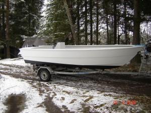 Nybyggd fiskebåt